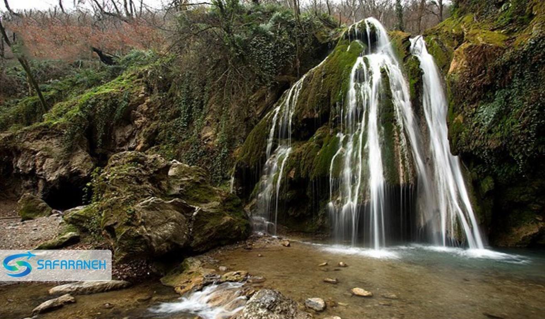 آبشار کبودوال علی آباد کتول