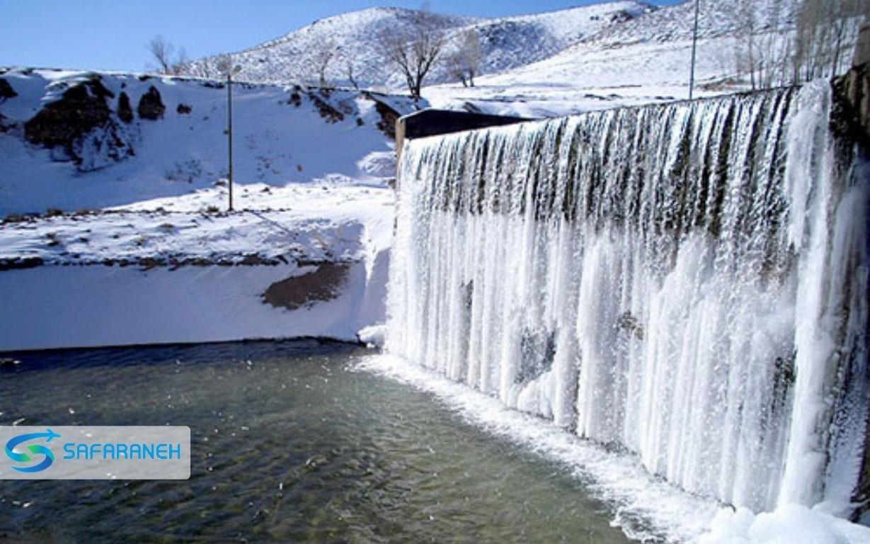 آبشار تونل کوهرنگ کوهرنگ