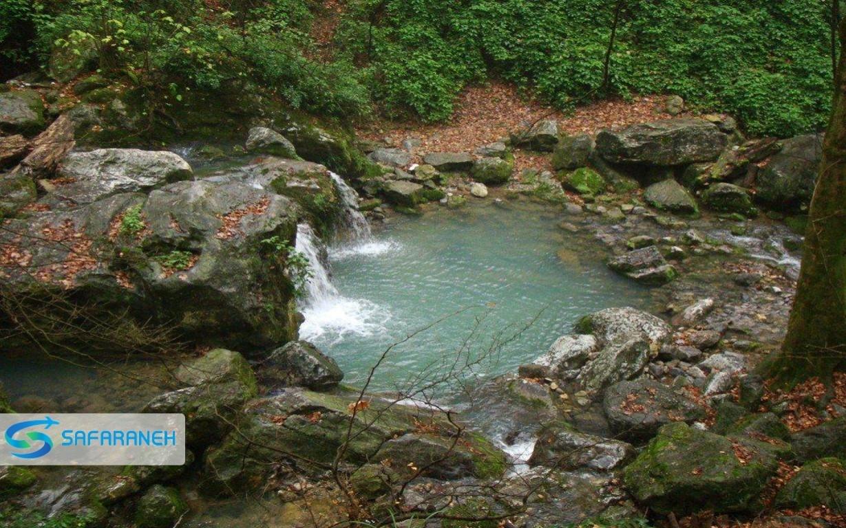 آبشارهای شیرآباد گرگان
