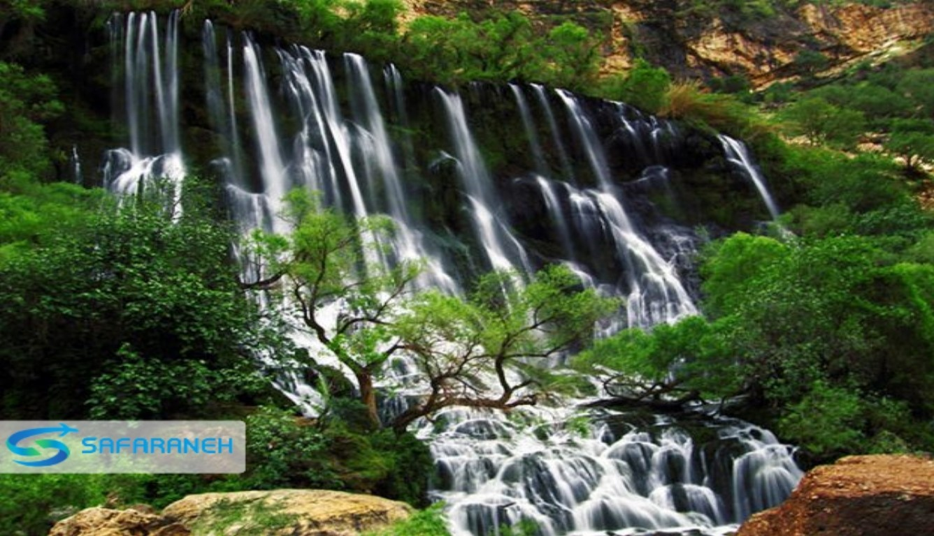 آبشار تله زنگ خرم آباد