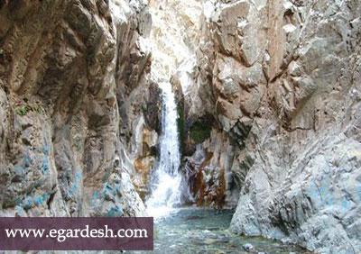 آبشار دلفارد جیرفت