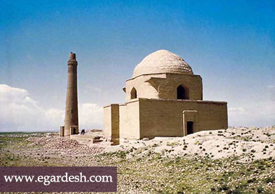 میل ایاز آرامگاه امیر ارسلان جاذب مشهد