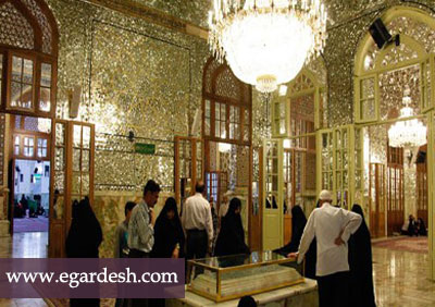 آرامگاه شیخ بهایی مشهد