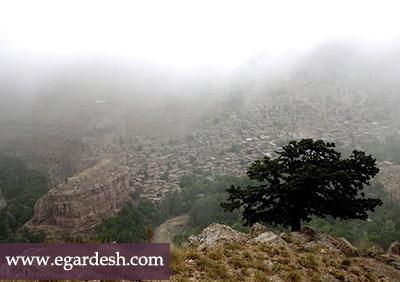 دره و آبشار بارگه بجنورد