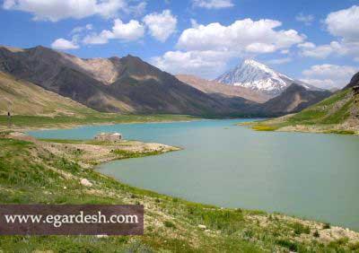 دره و دریاچه سد لار آمل