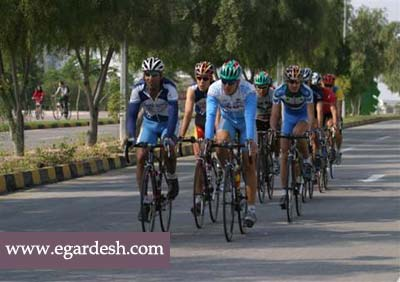 مسیر ویژه دوچرخه سواری کیش