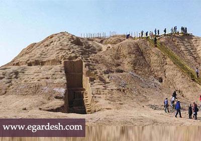 قلعه سموران جیرفت