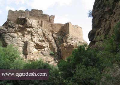 قلعه شاهان دشت آمل