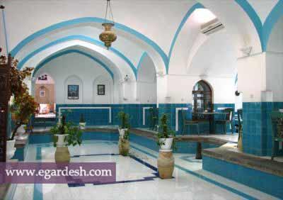حمام و بازار خان یزد