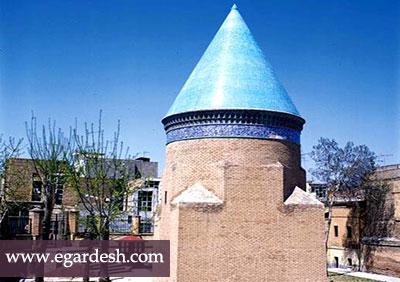 مقبره حمد الله مستوفی قزوين