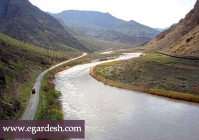 رودخانه ارس تبريز
