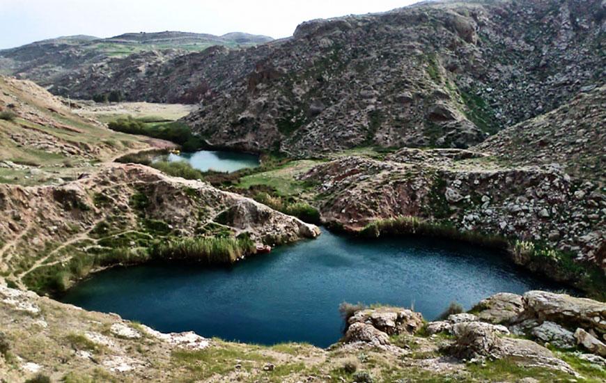 چشمه آب گرم ابارق 1 سرعین