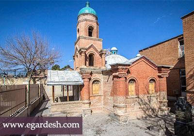 کلیسای کانتور قزوين