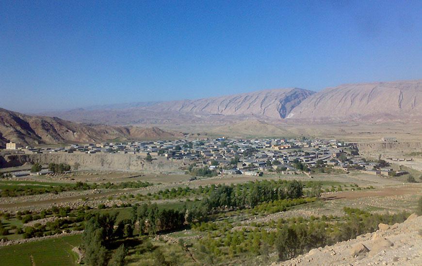 قلعه وشهر با ستانی ماژین خرم آباد