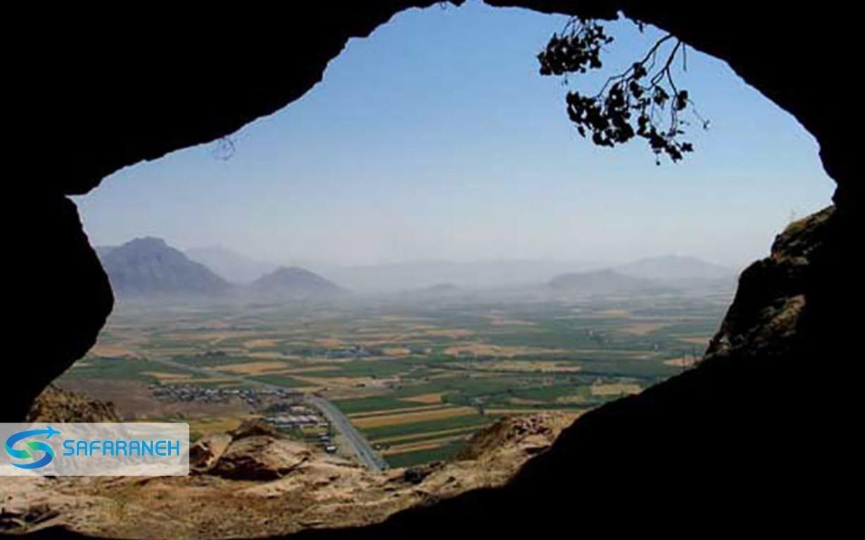 غار تایله نو کرمانشاه