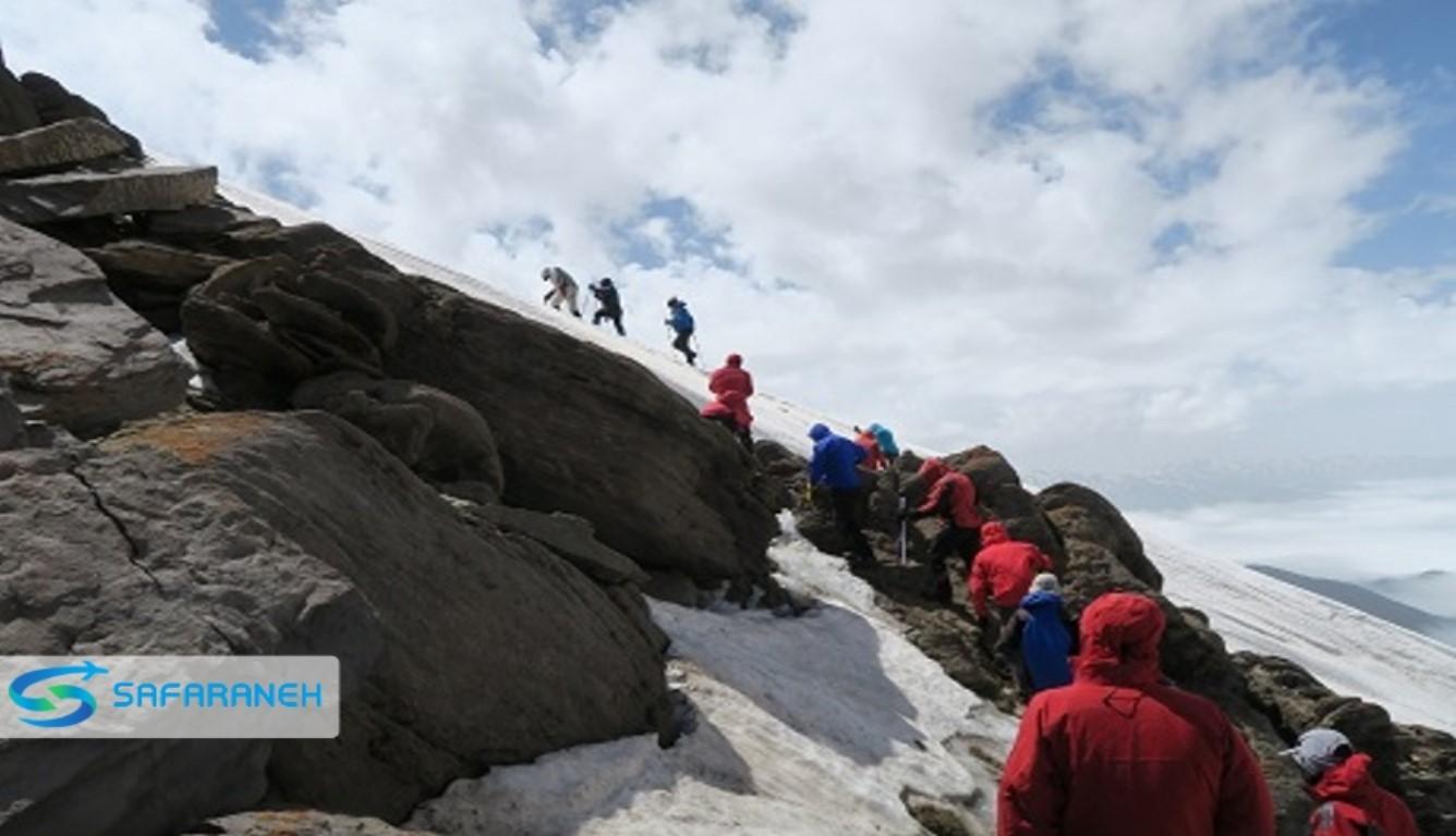 قله سیالان تنکابن