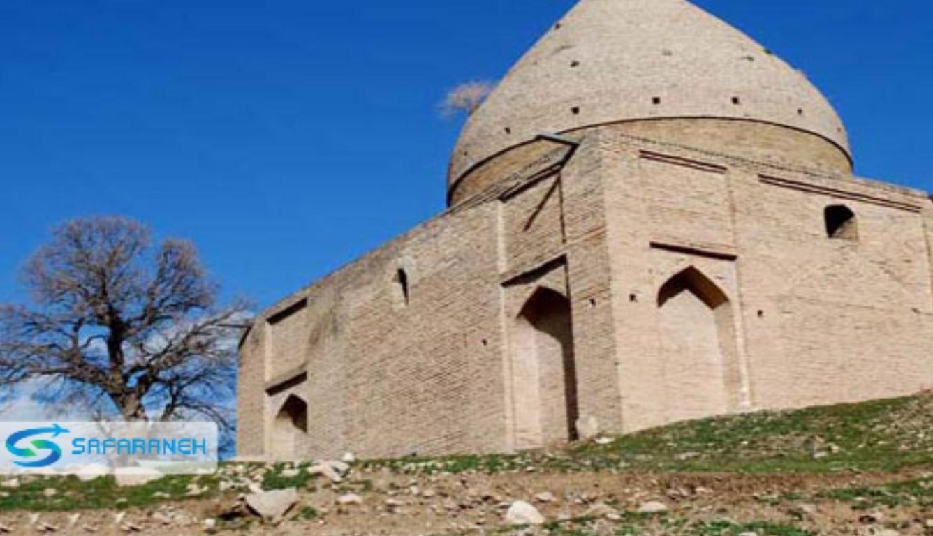 آرامگاه حیات الغییب و گنبد الیاس خرم آباد