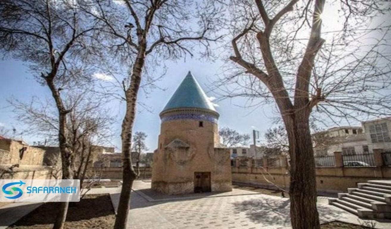 مقبره حمد الله مستوفی قزوین