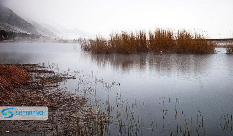 دریاچه جازموریان کرمان