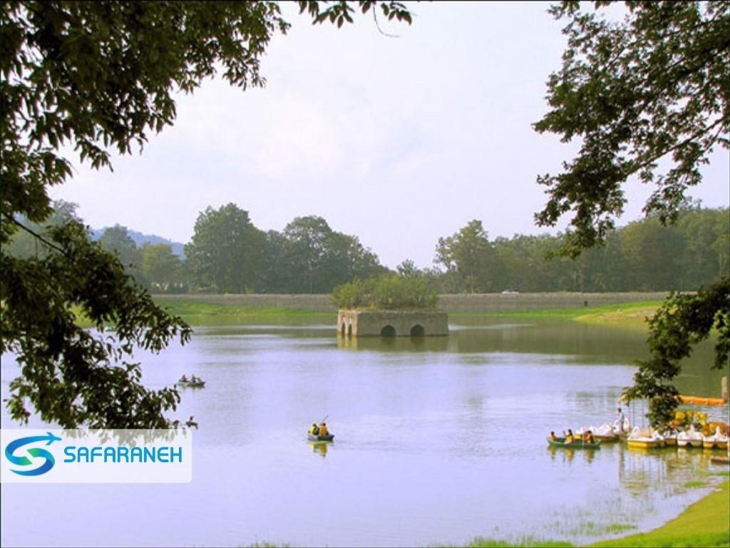 مجموعه پارک جنگلی عباس آباد بهشهر