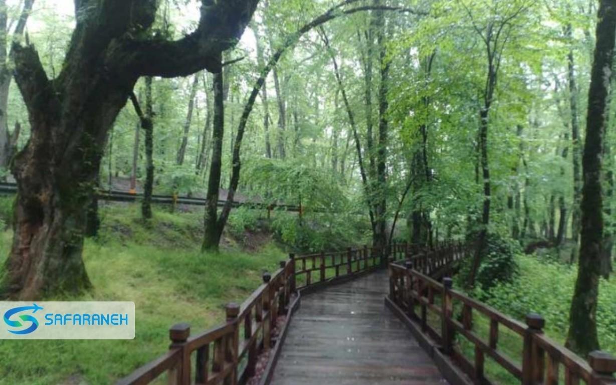 پارک جنگلی النگ دره گرگان