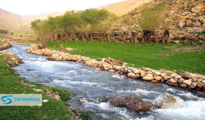 رودخانه جگیران سرپل زهاب