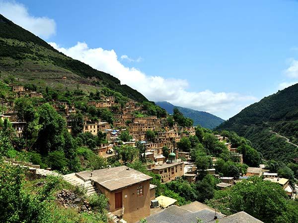 شهرهای واقع در دل کوه