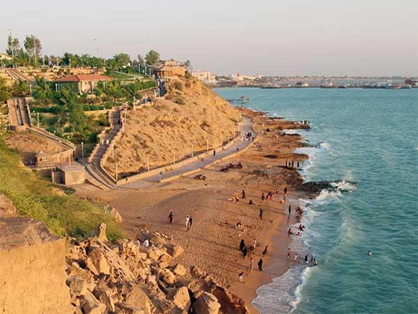 سیستان و بلوچستان سرزمین کویر ، دریا