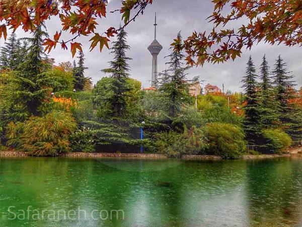 زیباترین باغ های تهران
