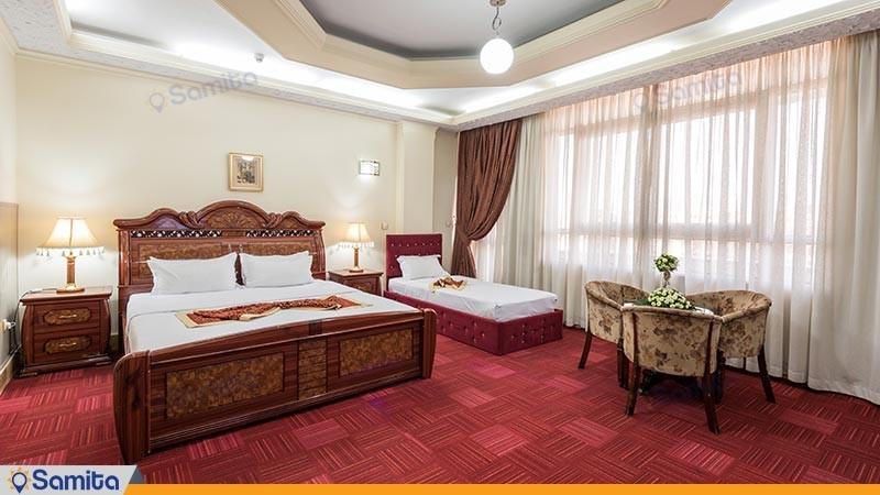 سوئیت سه تخته هتل خورشید