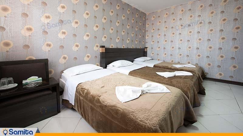 اتاق سه تخته هتل جلفا
