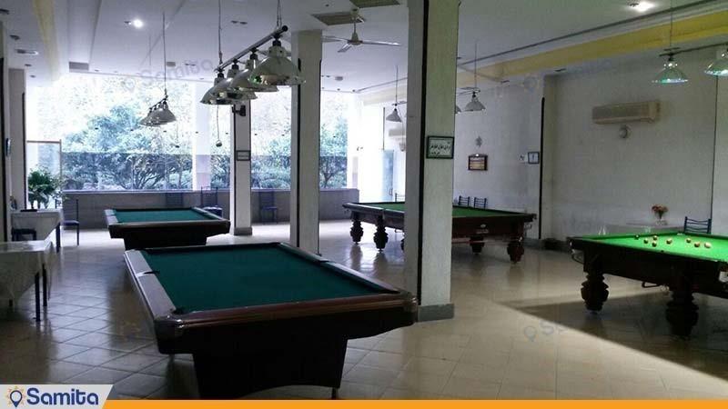 سالن بیلیارد هتل البرز لاهیجان