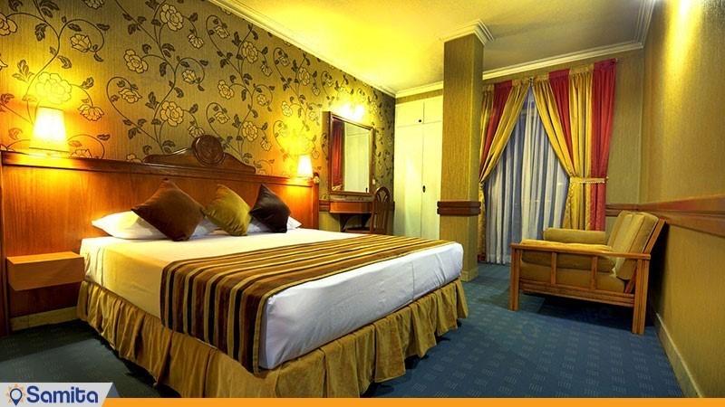 اتاق دبل هتل آسیا
