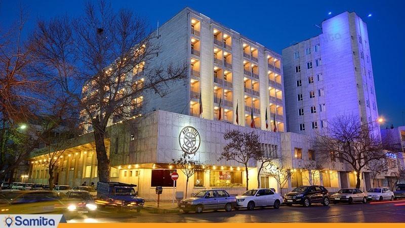 نمای ساختمان هتل آسیا