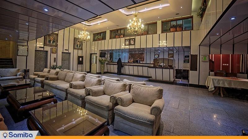 پذیرش هتل پردیس