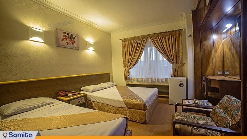 اتاق سه تخته هتل پردیس