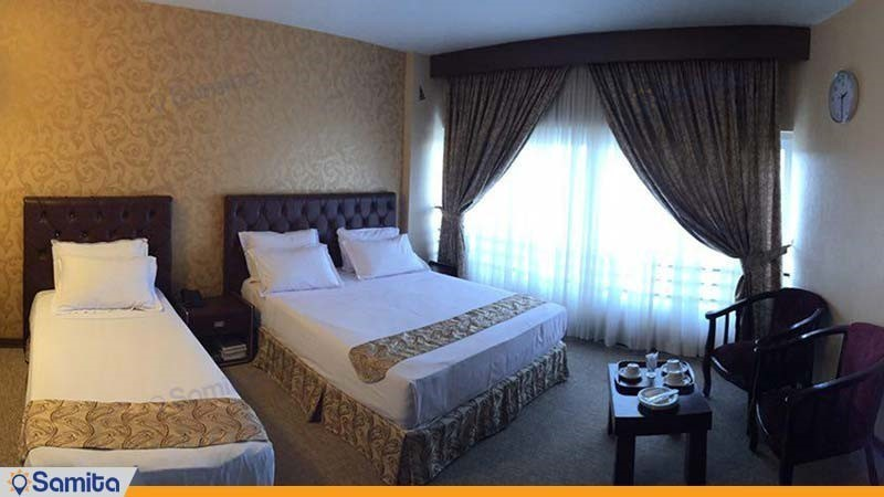 اتاق سه نفره هتل شارستان