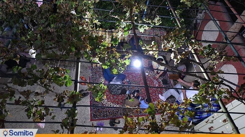 فضای نشیمن اقامتگاه بوم گردی شاهدان