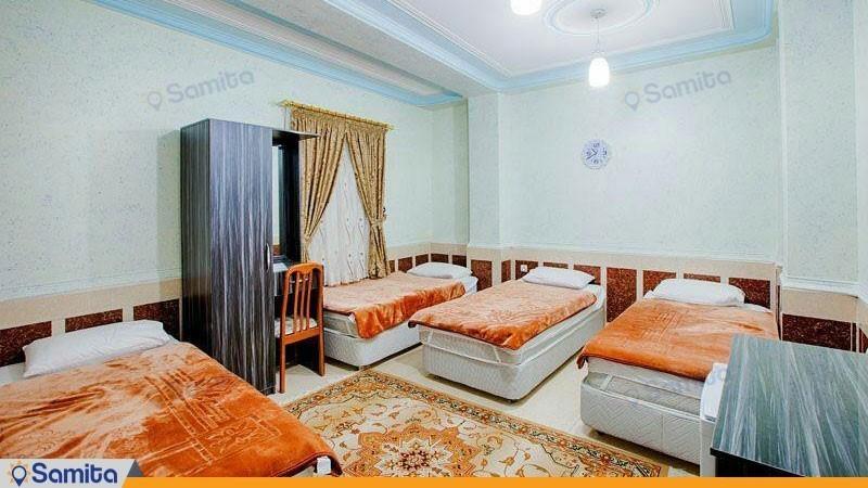 اتاق چهار تخته هتل آسماری