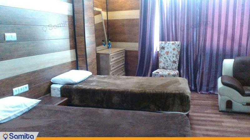 اتاق دو نفره هتل نخل زرین