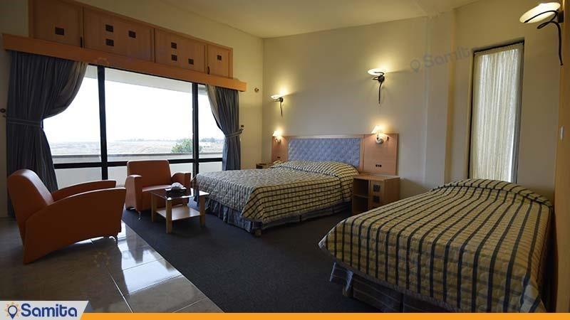 اتاق سه تخته هتل باری