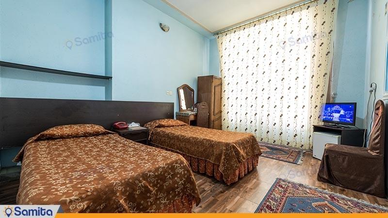اتاق دو تخته توئین هتل اطلس