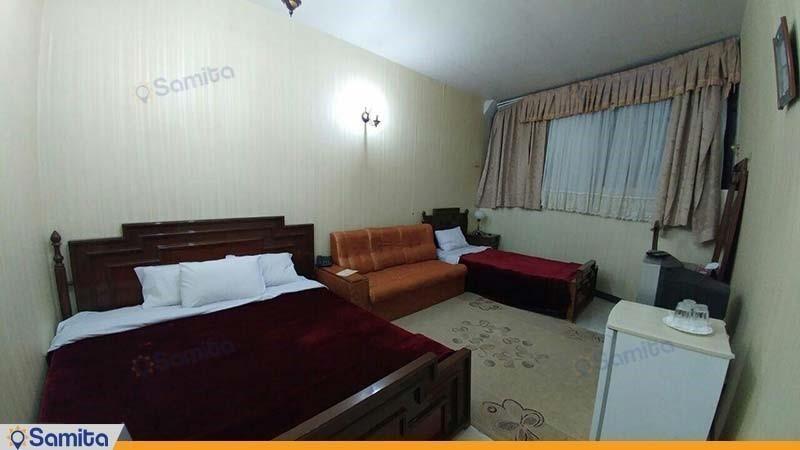 اتاق سه تخته هتل خاتم یزد