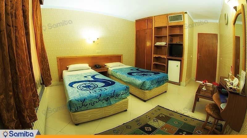 اتاق دو تخته مجتمع جهانگردی زنجان