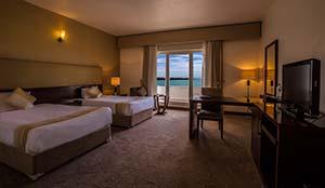 اتاق دو نفره رو به دریا