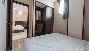 آپارتمان یکخوابه چهار تخته
