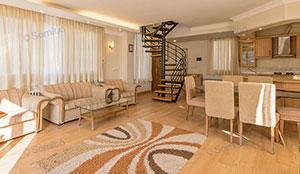 ویلا دوبلکس دو خوابه 125 متری چهار تخته