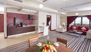 آپارتمان دو خوابه VIP رو به حرم