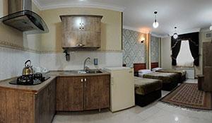 آپارتمان دو خوابه شش تخته