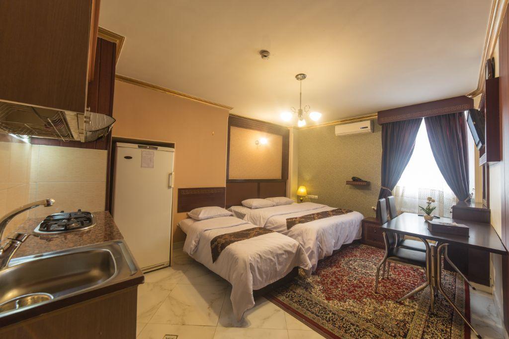 آپارتمان یکخوابه سه تخته